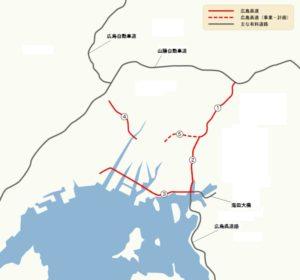 広島高速ルート図