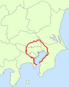 Japan_National_Route_16_Map