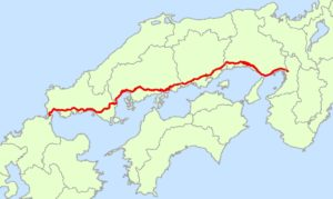 Japan_National_Route_2_Map